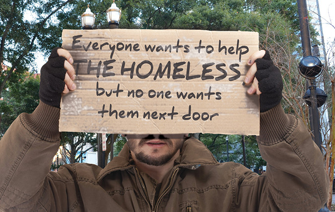 Everyone wants to help the homeless, but no one wants them next door
