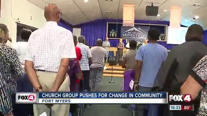 Church group pushes for change in Fort Myers