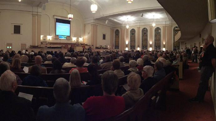 Hundreds vote on the biggest issue facing Lexington during forum