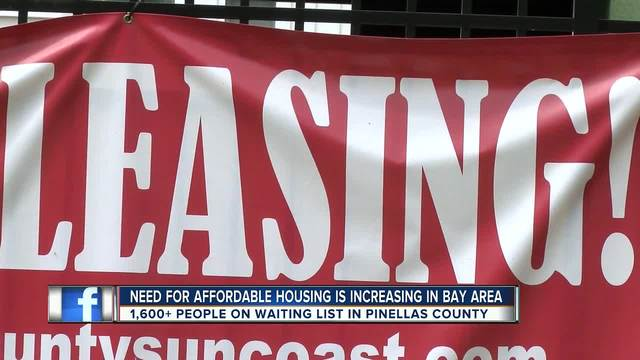 Group pushes for more Tampa Bay affordable housing