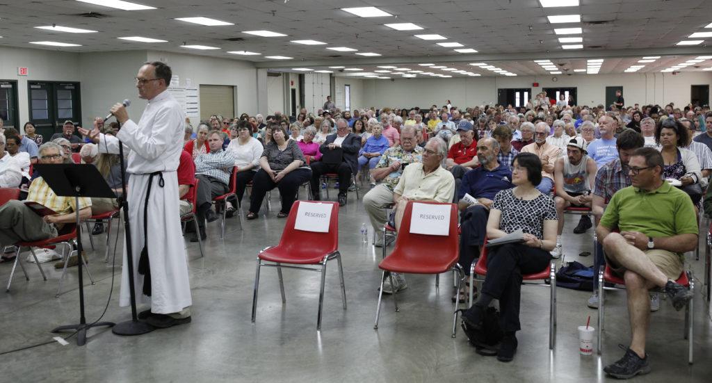 At forum, public demands separate ballot question for behavioral health campus, services