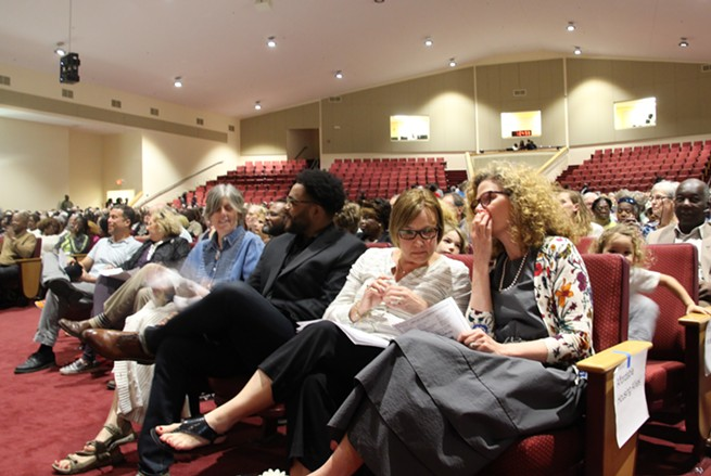 Seven local officials commit to help fix Charleston's affordable housing crisis at annual CAJM gathering