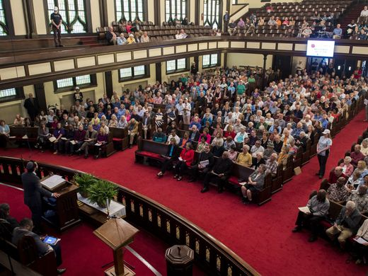 Justice Knox: Churches press officials on affordable housing, school suspensions