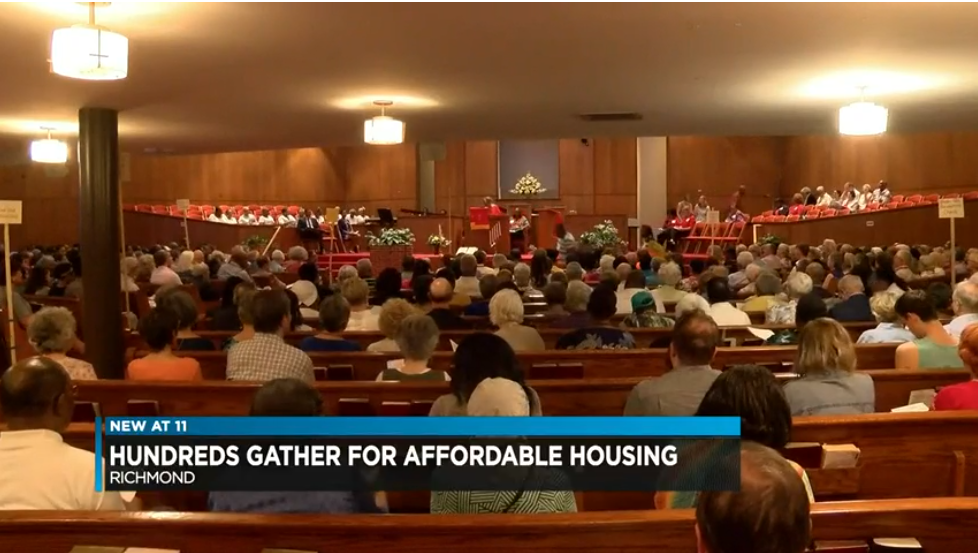 Hundreds gather in Richmond demanding more affordable housing