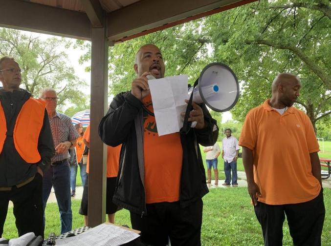 Neighborhood Peace Walk touted as 'first step' in bringing community together, deterring violent crime in Topeka