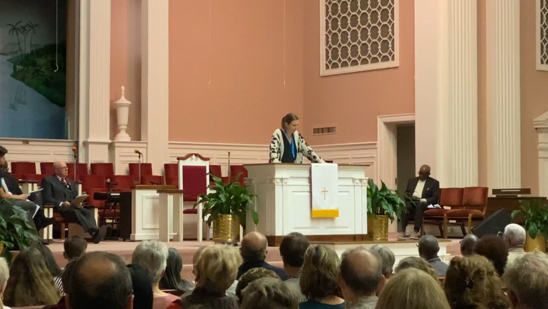 Hundreds attend Charleston Area Justice Ministry assembly to discuss community problems