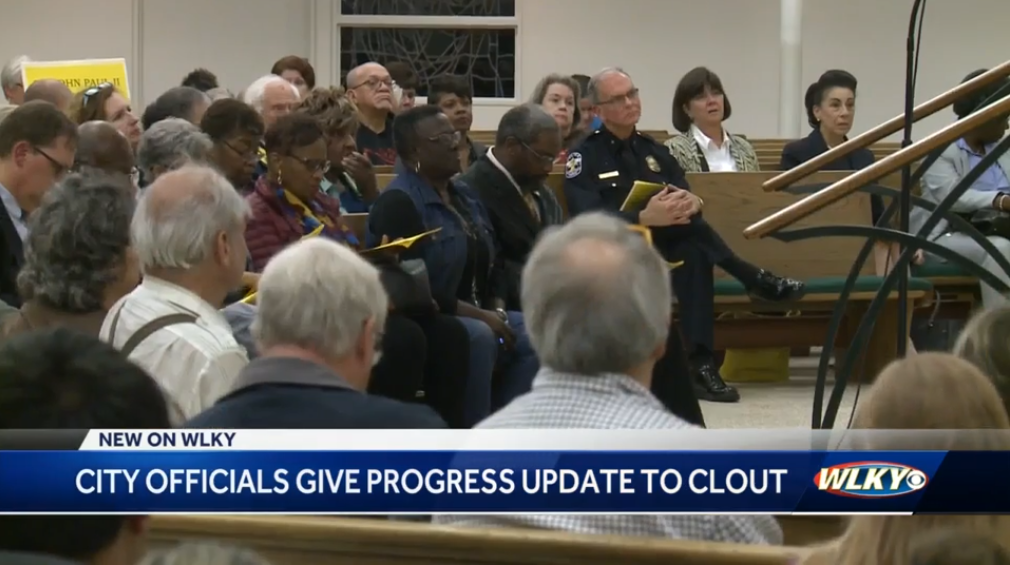CLOUT hears progress reports from top public officials at Community Problems Assembly