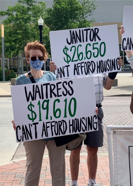 Group calls on Central Ohio leaders to make housing affordable as evictions skyrocket