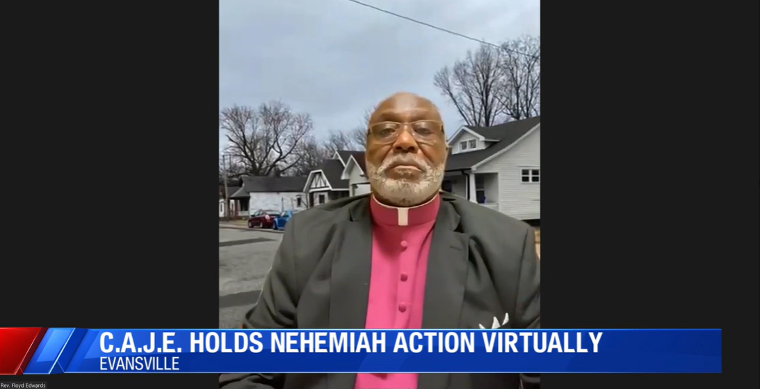 CAJE holds virtual Nehemiah action & asks city for millions