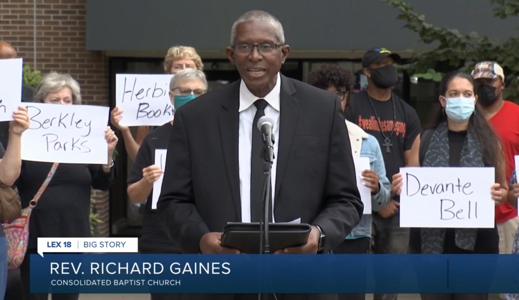 Lexington faith leaders make plea: 'The violence must stop'